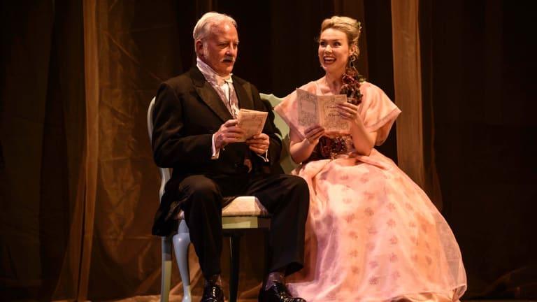 John O'May and Carina Waye.