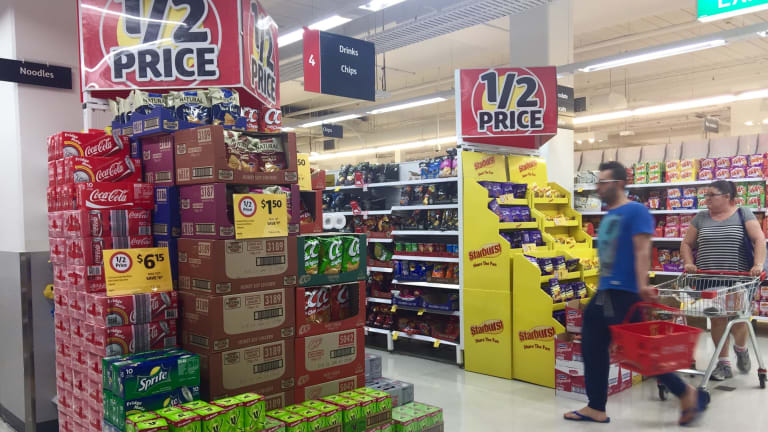 Food And Drink: Shoppers Struggling To Resist Cheap Junk Food And Sugary