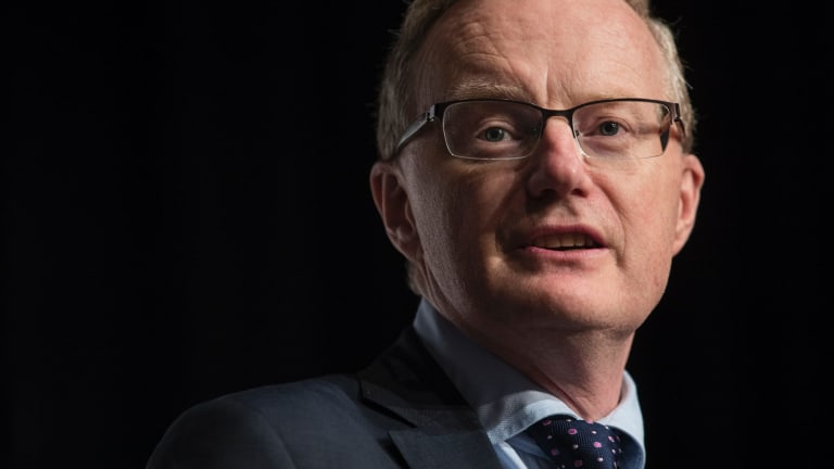 RBA governor Philip Lowe offered hope to workers, noting some businesses were struggling to find the right employees, meaning they might have to start lifting salaries.