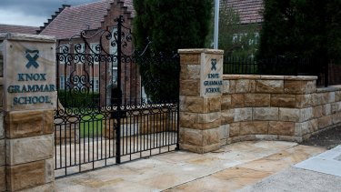 An unnamed solicitor had recommended the destruction of documents at Knox Grammar school.