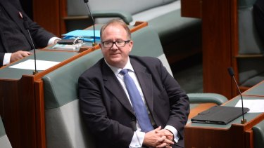 Labor MP David Feeney in the House of Representatives on Wednesday.