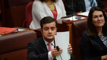 Senator Sam Dastyari on Thursday.