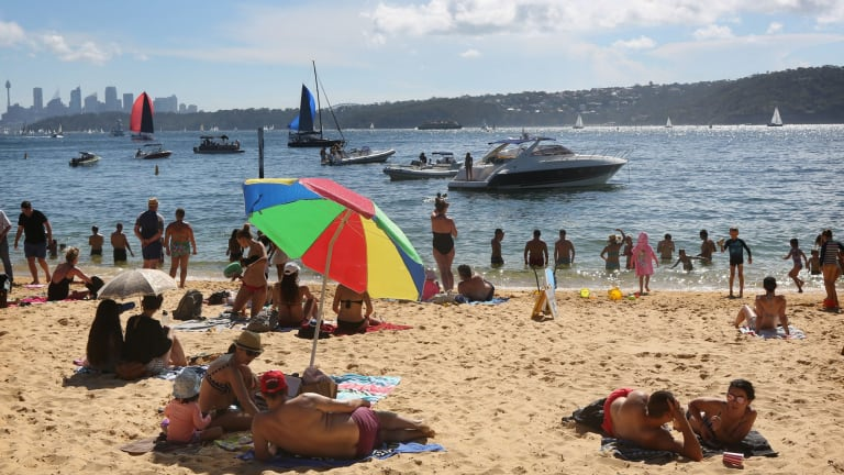 Temperatures in greater Sydney are expected to hit 40 degrees next week.