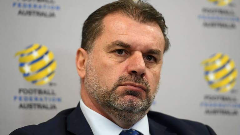 Ange Postecoglou coached the Socceroos all the way to the World Cup, only to resign right when his side can at last see the summit!