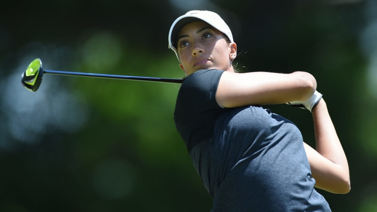 Cheyenne Woods will play at the Royal Canberra Classic.