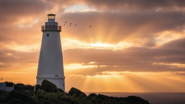 Cape Willoughby Lighthouse.