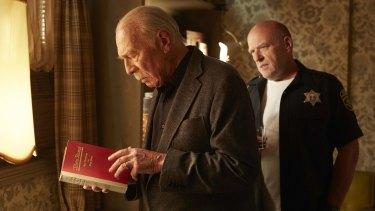 Christopher Plummer's Zev (left) is on a journey for revenge.