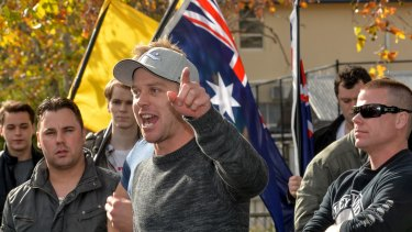 "Shermon Burgess, aka ""The Great Aussie patriot"", has announced plans for a Reclaim Australia rally for Canberra in November."