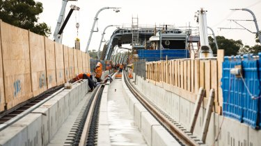 Three more level crossings will be removed before the sky rail opens in February.