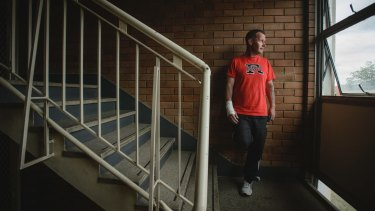 Stuart Flats resident Christian Nicholson contested his eviction notice in ACAT and won.