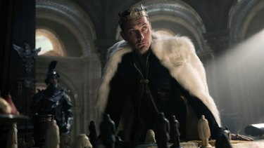 Jude Law as the usurper Vortigern delivers the film's only remotely memorable performance