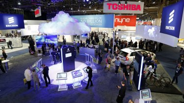 The Consumer Electronics Show is held in Las Vegas every January.
