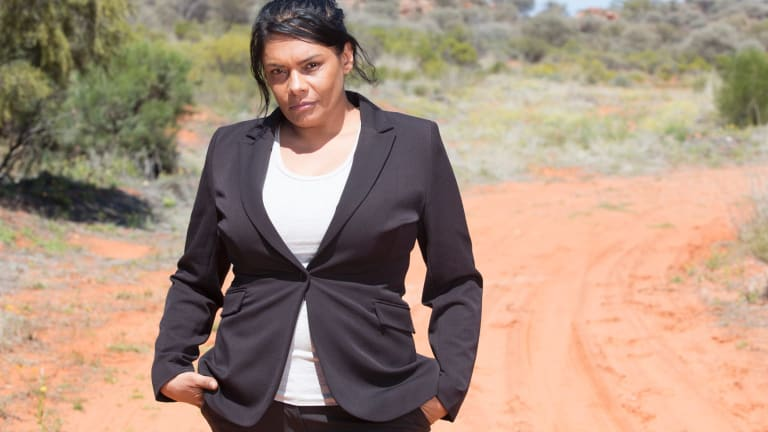 Lisa Flanagan plays Detective Sergeant Amy Peters in the Foxtel special, <i>Home and Away: Revenge</i>.