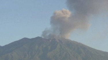 Ash from Mount Raung in east Java disrupted dozens of flights in July.