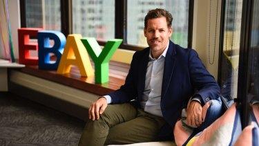 EBay's new local managing director Tim Mackinnon.