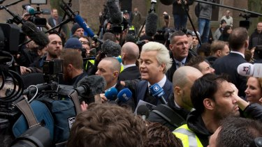Firebrand anti-Islam lawmaker Geert Wilders.