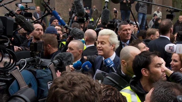 Firebrand anti-Islam lawmaker Geert Wilders.