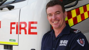 Senior firefighter Peter Kirwan suffered a back injury that fed into depression.