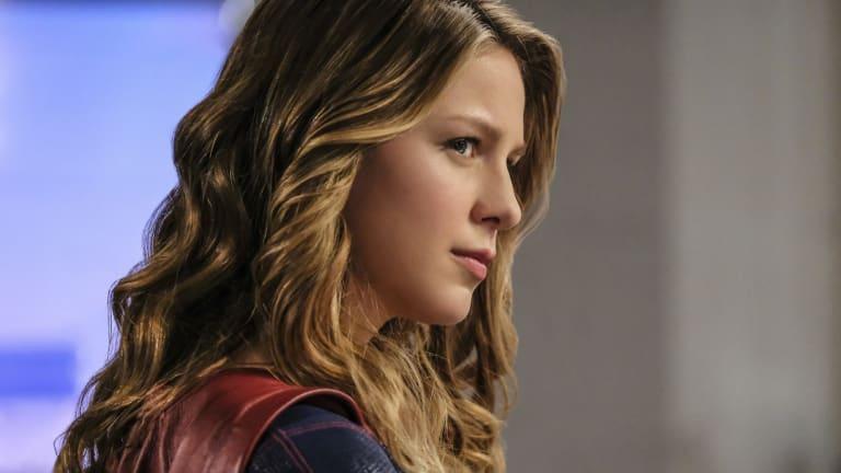 Melissa Benoist plays Supergirl.