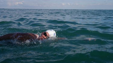 Marathon swimmer Chloe McCardel was the fourth person to swim the English Channel three times in a row.