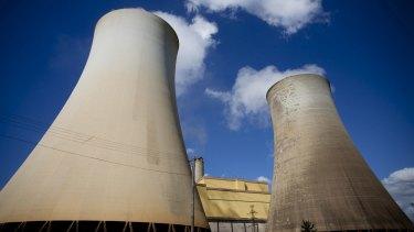 Yalourn power plant in Victoria's Latrobe Valley.