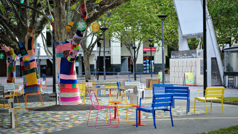 The #BackyardExperiment was organised by AILA and Street Furniture Australia, in collaboration with the ACT Government and In the City Canberra.