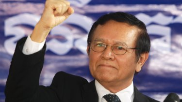 Cambodia's main opposition Cambodia National Rescue Party Vice President Kem Sokha in September.