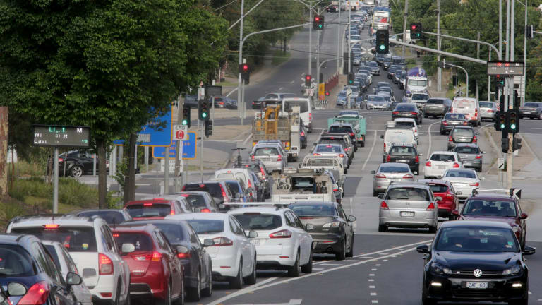 Traffic congestion is a symptom of urban sprawl, now a major problem in Southeast Queensland.