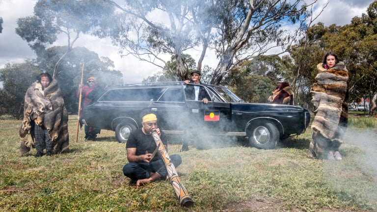 The former Victorian Aboriginal Funeral Service hearse has been recommissioned for the repatriation of the remains of more than 100 Aboriginal people from the National Museum of Australia in Canberra.