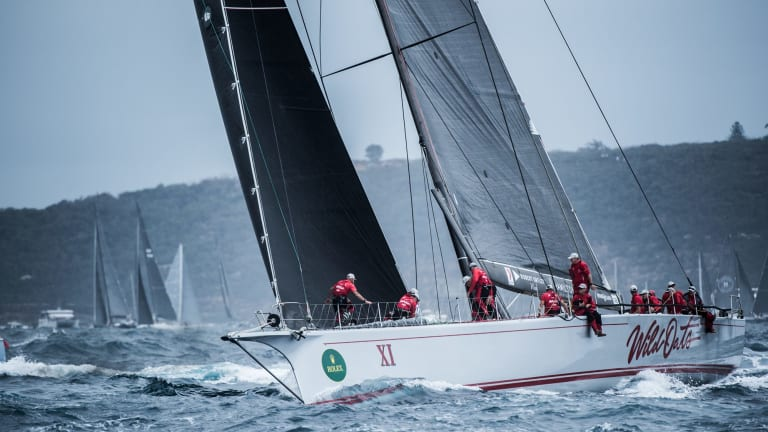 Wild Oats XI has won the Sydney to Hobart for a ninth time.