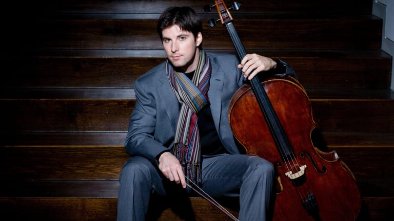 A masterful display of empathy: Cellist Daniel Muller-Schott.