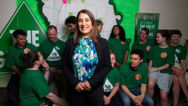 The Greens MP for Northcote, Lidia Thorpe.