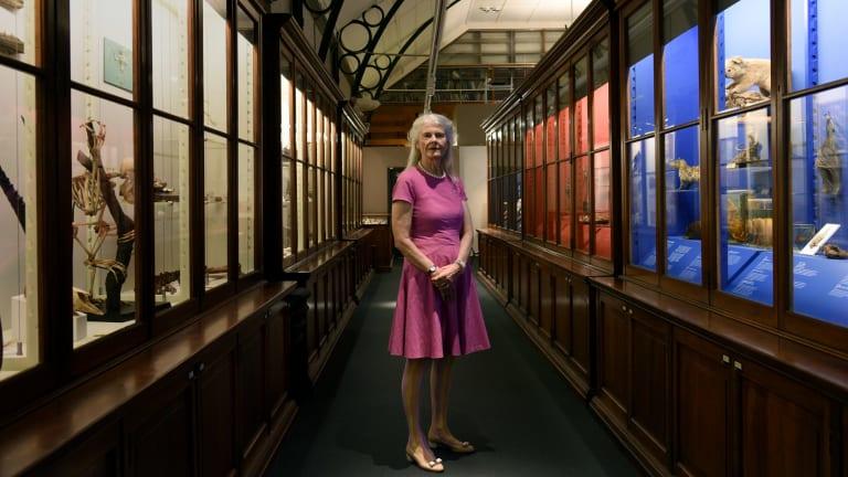 Architect and arts patron Penelope Seidler has donated $750,000 towards the new Chau Chak Wing museum at Sydney University.