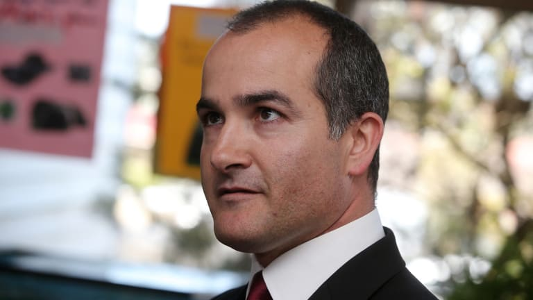Eyes on the future: Education Minister James Merlino says his priority is to improve standards and facilities for the state's 500,000 students.