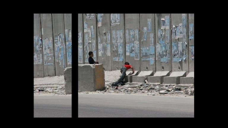 Danae Stratou's The Globalising Wall, 2012.