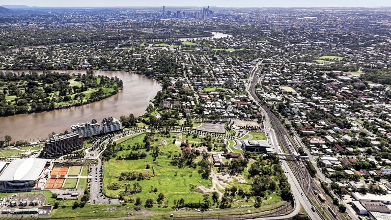 The 14-hectare Yeerongpilly Green project will include up to 1200 units.