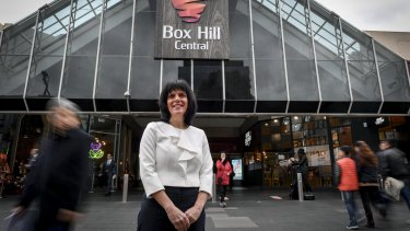 The Liberal Party's Chisholm candidate Julia Banks.