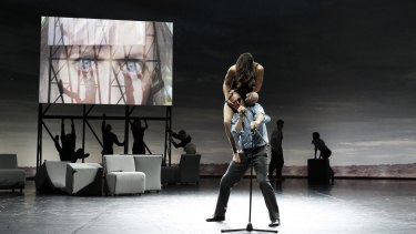 Lauren Langlois and Stephen Phillips performed together in 2014's Complexity of Belonging.