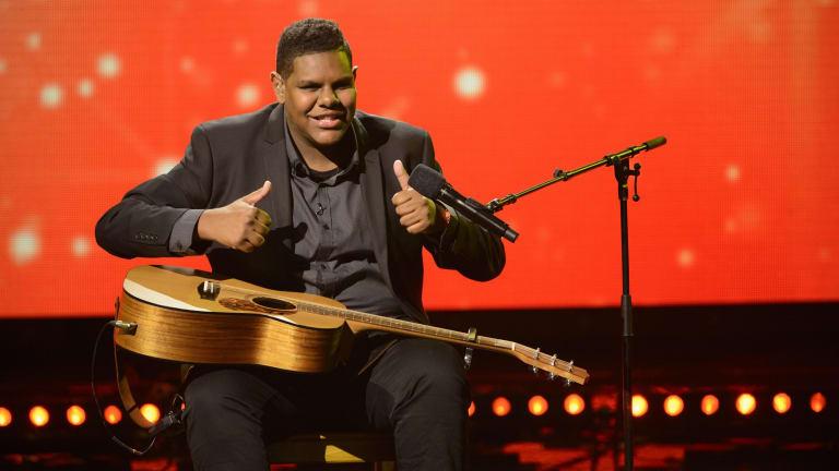 Chris Tamwoy is a Logan guitarist appearing on Australia's Got Talent.