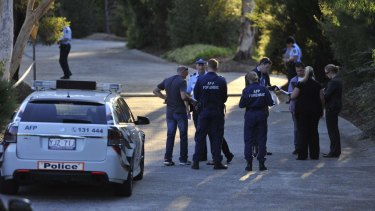 Police attend suspected homicide in Calwell.