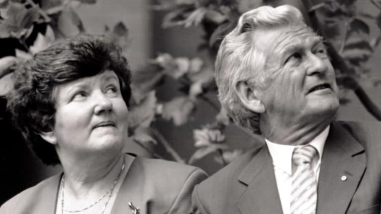 Joan Kirner and former prime minister Bob Hawke.