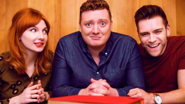 Alice Levine, Jamie Morton and James Cooper brought their podcast My Dad Wrote A Porno to Australia for a series of live performances.