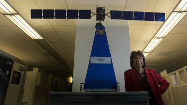 Scientist Claudia Alexander, NASA's point person for the Rosetta mission.
