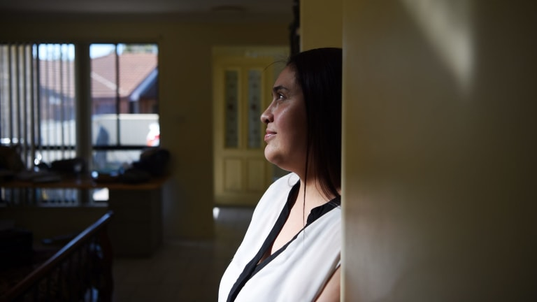 Veronica Suarez spends almost 40 per cent of her weekly income on rent.
