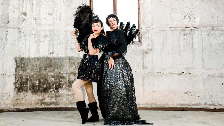 Rachel Reid and Liz Lea will perform at Mount Stromlo Observatory as part of Australian Dance Week.