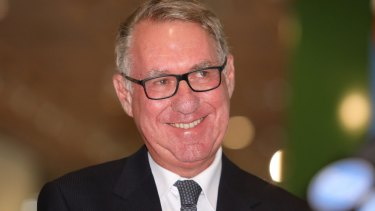 ANZ chairman David Gonski hooked up via phone with the other big bank chairmen on Tuesday.