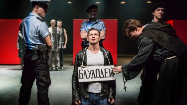 Cheek by Jowl's production of Shakespeare's <i>Measure for Measure</i>, staged with Pushkin Theatre Moscow, is one of the Sydney Festival's headline shows.