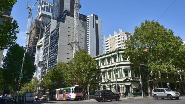 The Celtic Club on the corner of Queen and La Trobe streets may be sold or redeveloped.