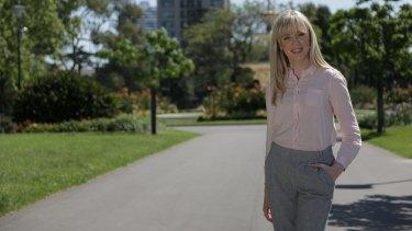 Sarah Corkran, a graduate of the  Australian College of Applied Psychology.