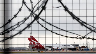Qantas' A380s have been consistently arriving late at London's Heathrow Airport.